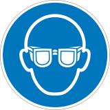 Mandatory sign use eye protection